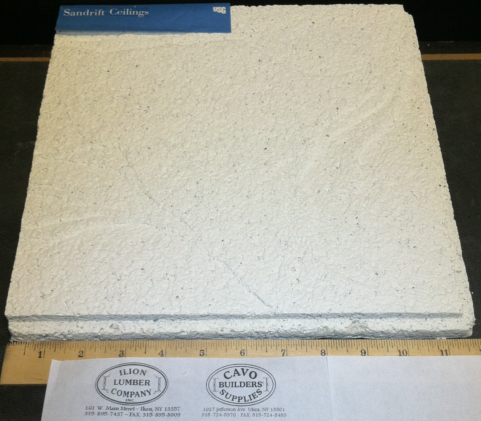 Ceiling tile ilion lumber company usg twill ceiling tile dailygadgetfo Gallery